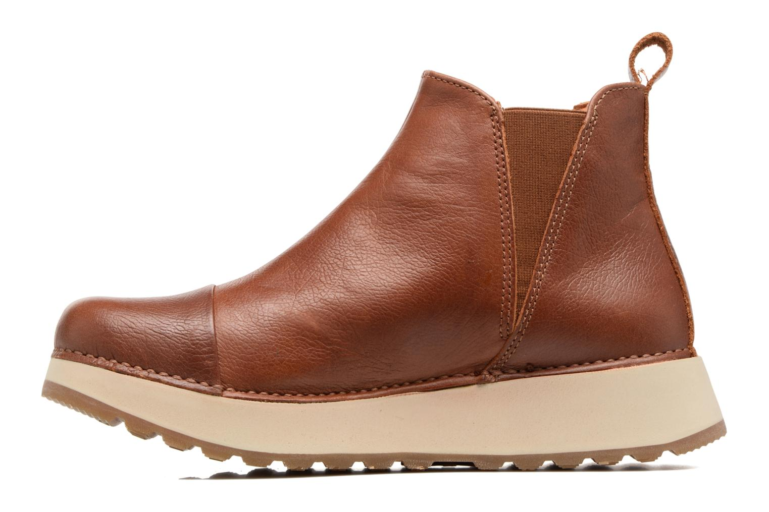 Ankle boots Art Heathrow 1023 Brown front view