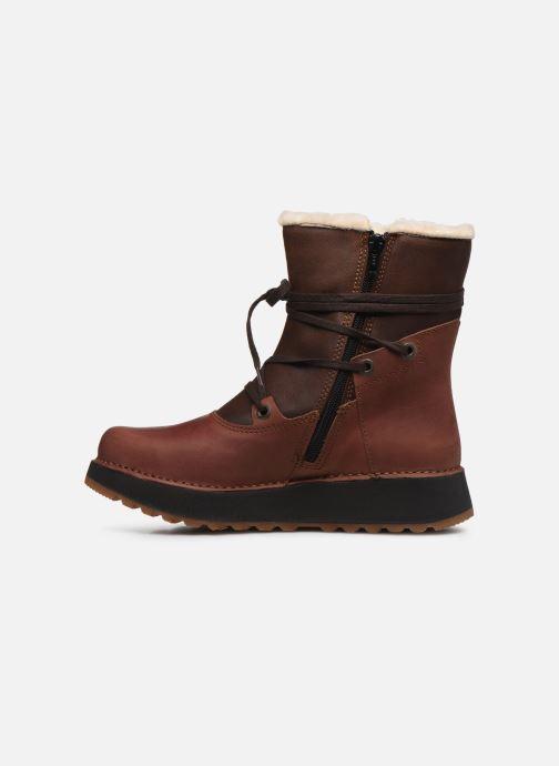 Bottines et boots Art Heathrow 1024 Marron vue face