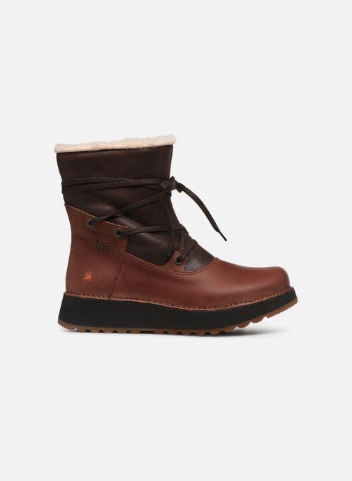 Bottines et boots Art Heathrow 1024 Marron vue derrière