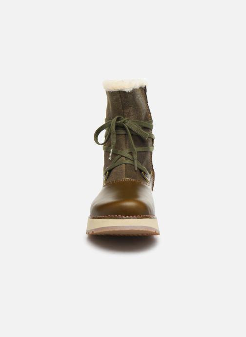 Bottines et boots Art Heathrow 1024 Vert vue portées chaussures