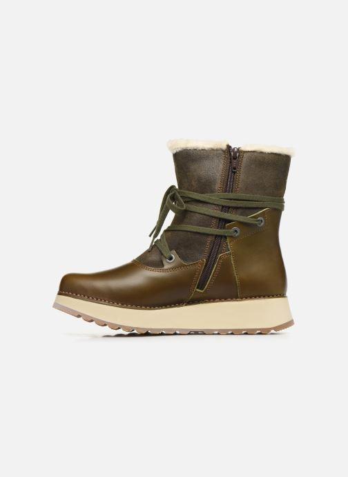 Bottines et boots Art Heathrow 1024 Vert vue face