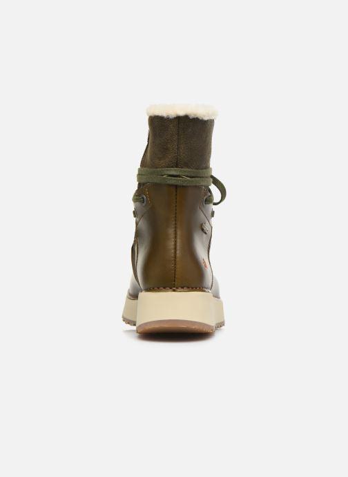 Bottines et boots Art Heathrow 1024 Vert vue droite