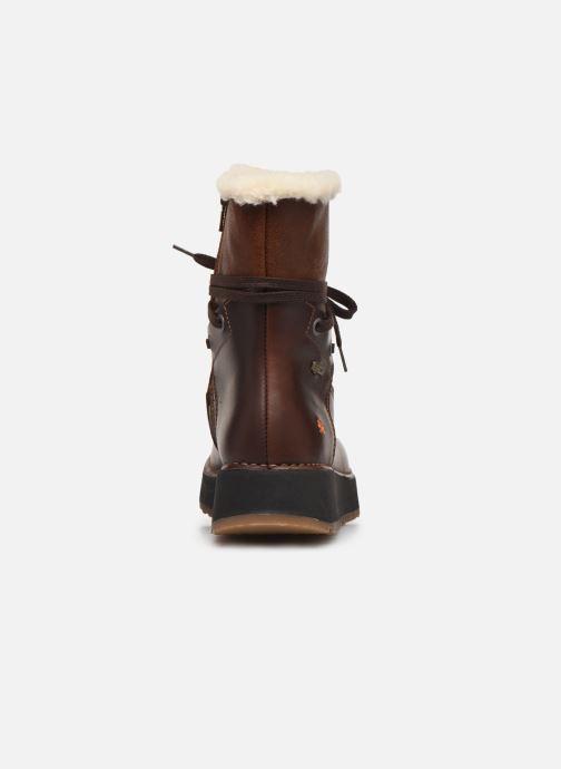 Boots en enkellaarsjes Art Heathrow 1024 Bruin rechts