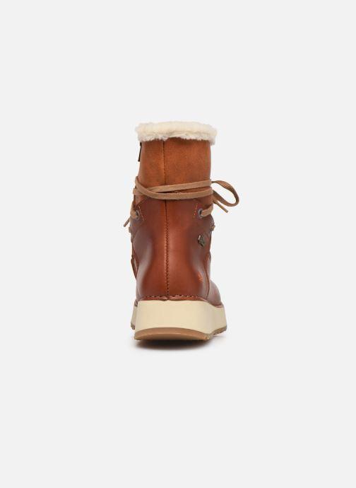 Bottines et boots Art Heathrow 1024 Marron vue droite