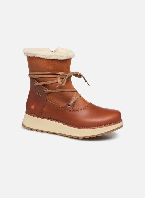 Boots en enkellaarsjes Art Heathrow 1024 Bruin detail