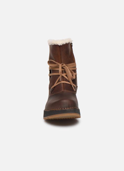 Bottines et boots Art Heathrow 1024 Marron vue portées chaussures