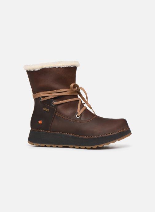 Boots en enkellaarsjes Art Heathrow 1024 Bruin achterkant