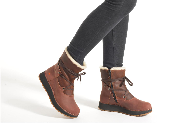 Bottines et boots Art Heathrow 1024 Noir vue bas / vue portée sac