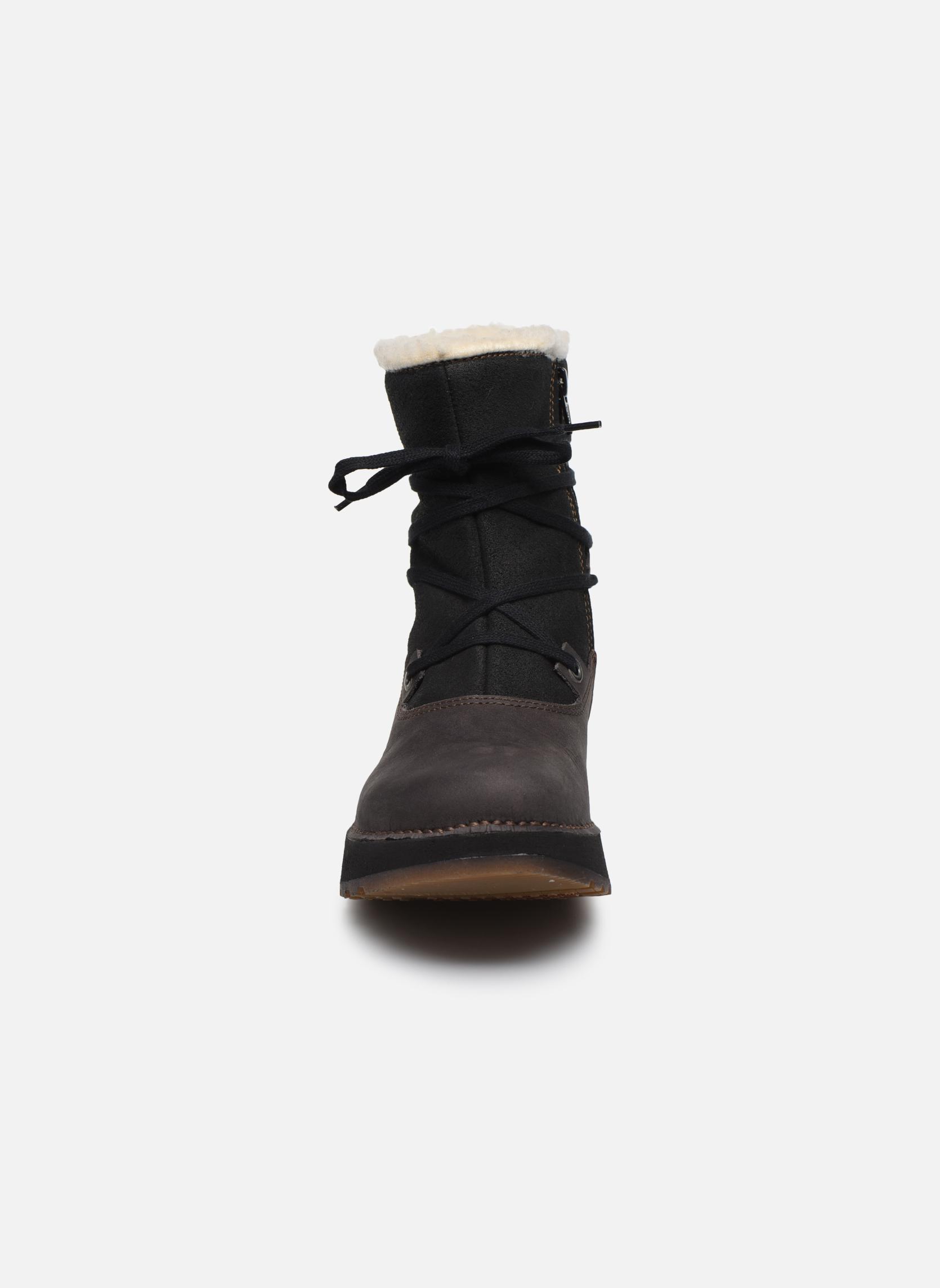 Bottines et boots Art Heathrow 1024 Noir vue portées chaussures
