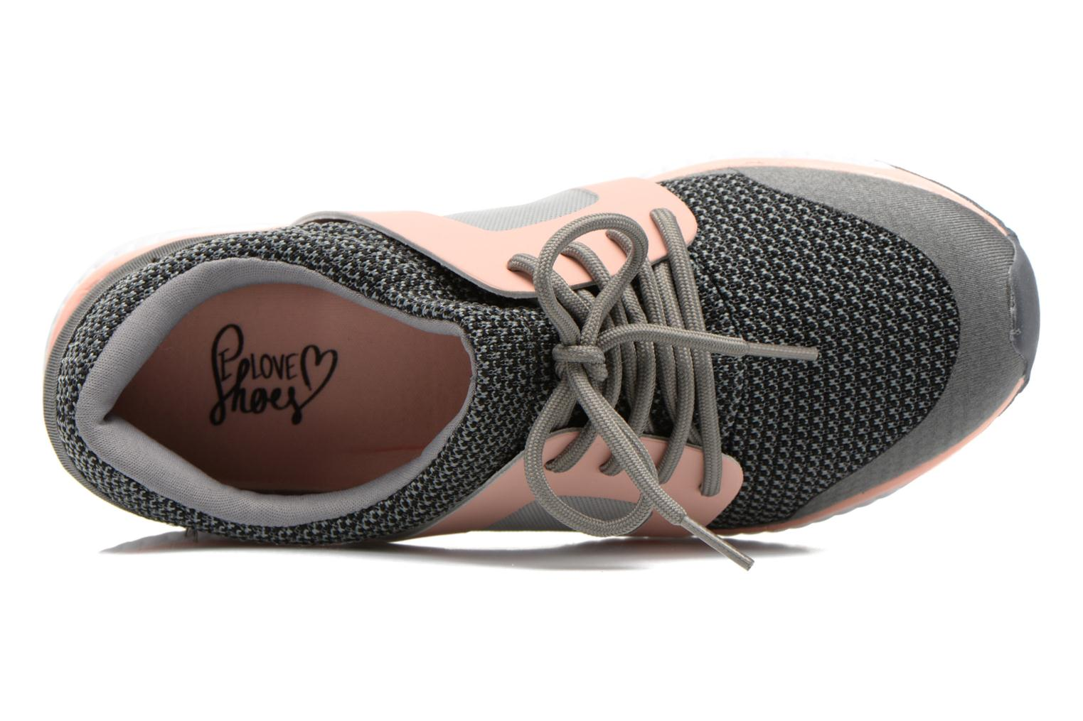 Baskets I Love Shoes BROXYM Gris vue gauche