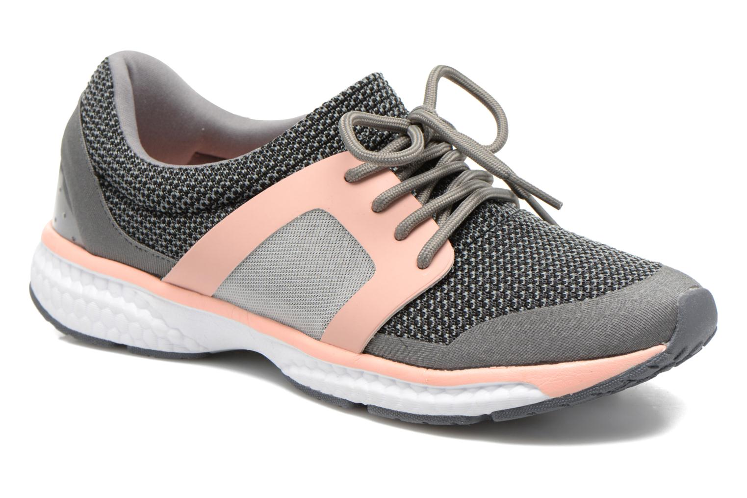Baskets I Love Shoes BROXYM Gris vue détail/paire