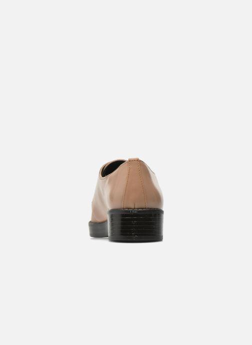 Chaussures à lacets Aldo Monnacco Beige vue droite