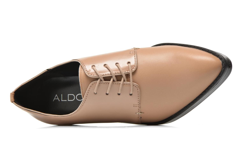 Chaussures à lacets Aldo Monnacco Beige vue gauche