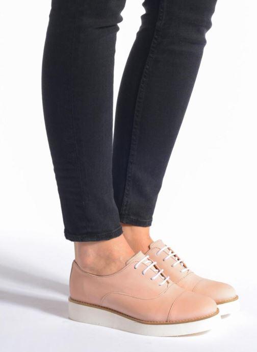 Zapatos con cordones Aldo Ocayria Marrón vista de abajo