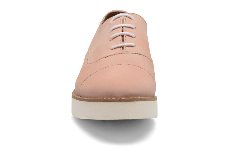 Chaussures à lacets Aldo Ocayria Rose vue portées chaussures