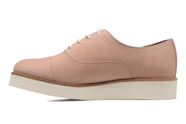 Chaussures à lacets Aldo Ocayria Rose vue face