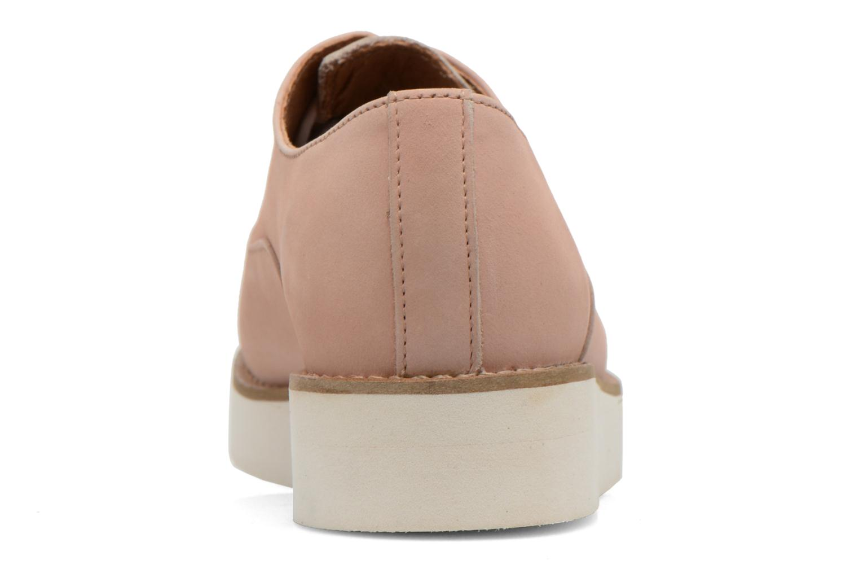 Chaussures à lacets Aldo Ocayria Rose vue droite