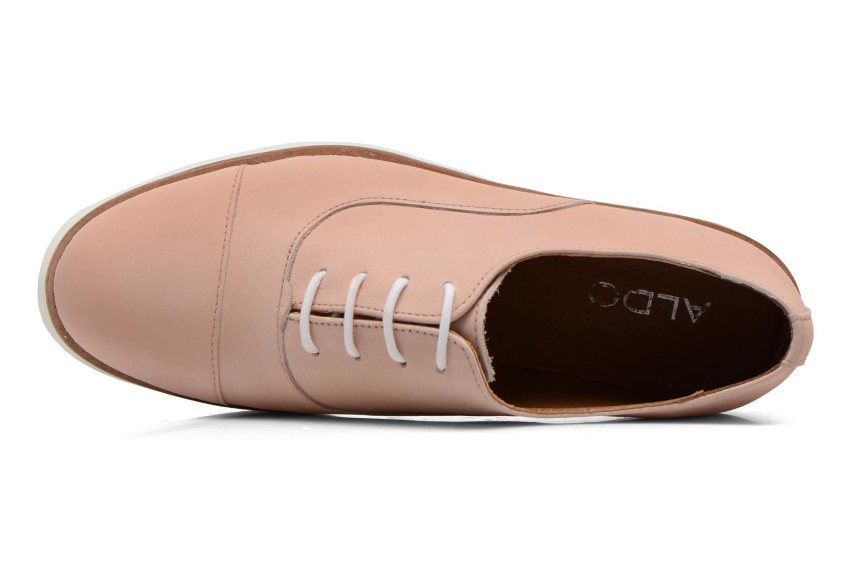 Chaussures à lacets Aldo Ocayria Rose vue gauche