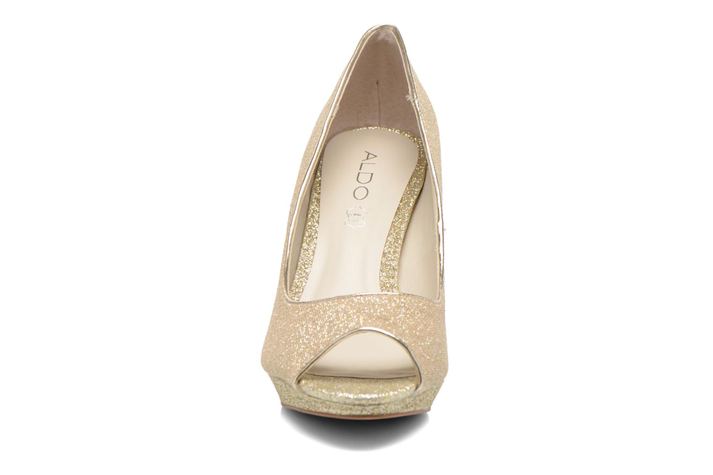 Escarpins Aldo Cirlano Or et bronze vue portées chaussures