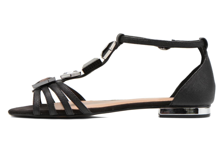 Sandales et nu-pieds Aldo Lilia Noir vue face