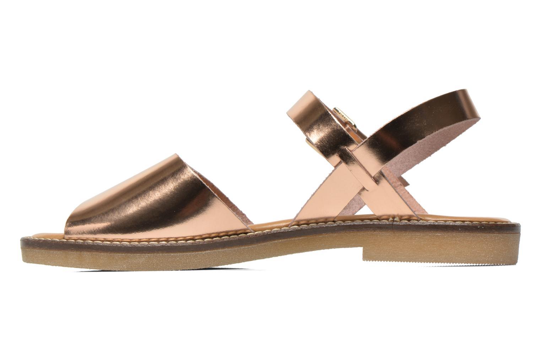 Sandales et nu-pieds Aldo Roncari Rose vue face