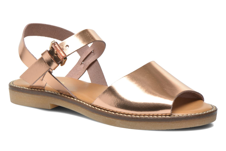 Sandales et nu-pieds Aldo Roncari Rose vue détail/paire