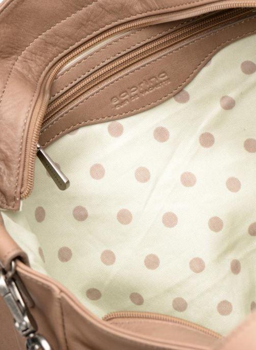 Handtaschen Sabrina Isabelle beige ansicht von hinten