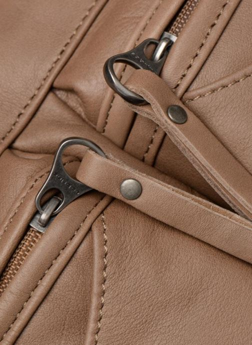 Handtaschen Sabrina Isabelle beige ansicht von links