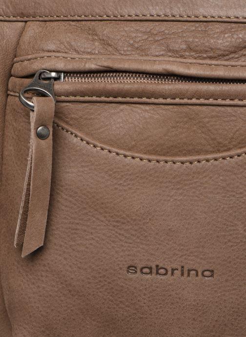 Handtassen Sabrina Isabelle Bruin links