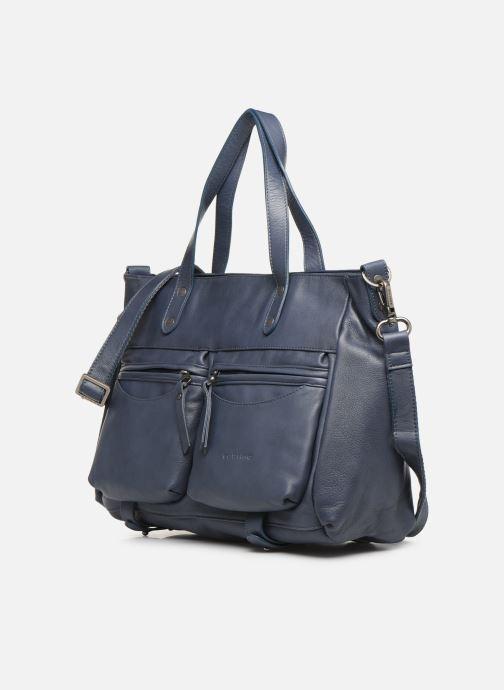 Handtassen Sabrina Isabelle Blauw model