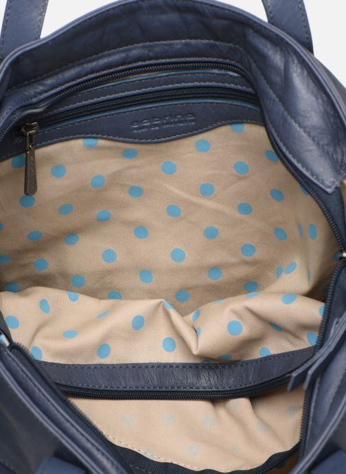 Handtassen Sabrina Isabelle Blauw achterkant