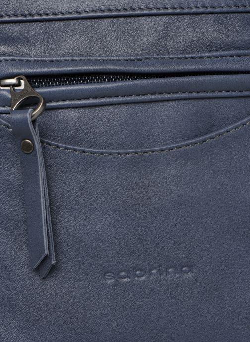 Handtassen Sabrina Isabelle Blauw links