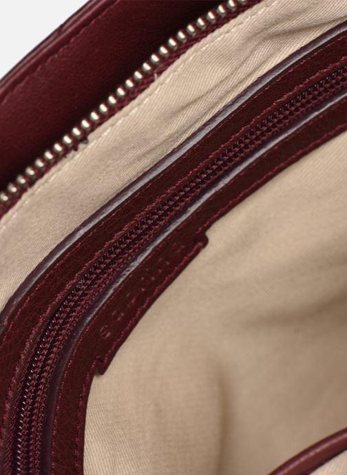 Handtaschen Sabrina Victoria rot ansicht von hinten