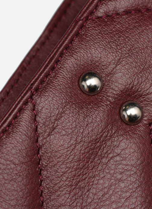 Handtaschen Sabrina Victoria rot ansicht von links