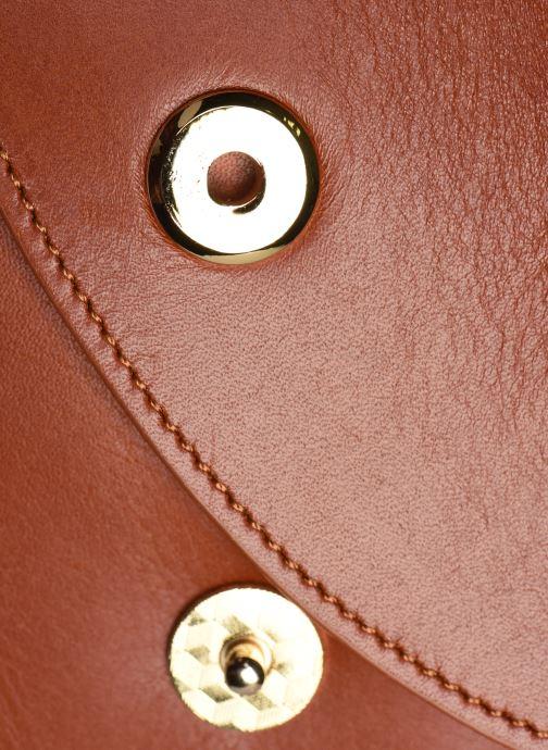 Bolsos de mano Sabrina Valentine Marrón vista lateral izquierda