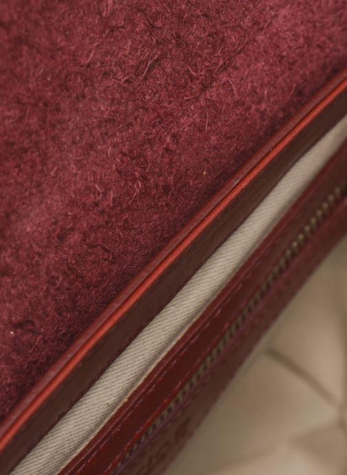 Handtaschen Sabrina Valentine weinrot ansicht von hinten