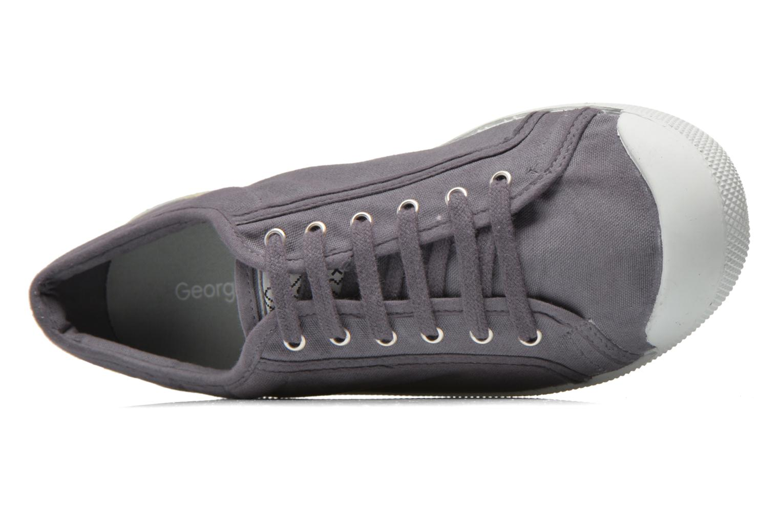 Trainers Georgia Rose Mamine Grey view from the left