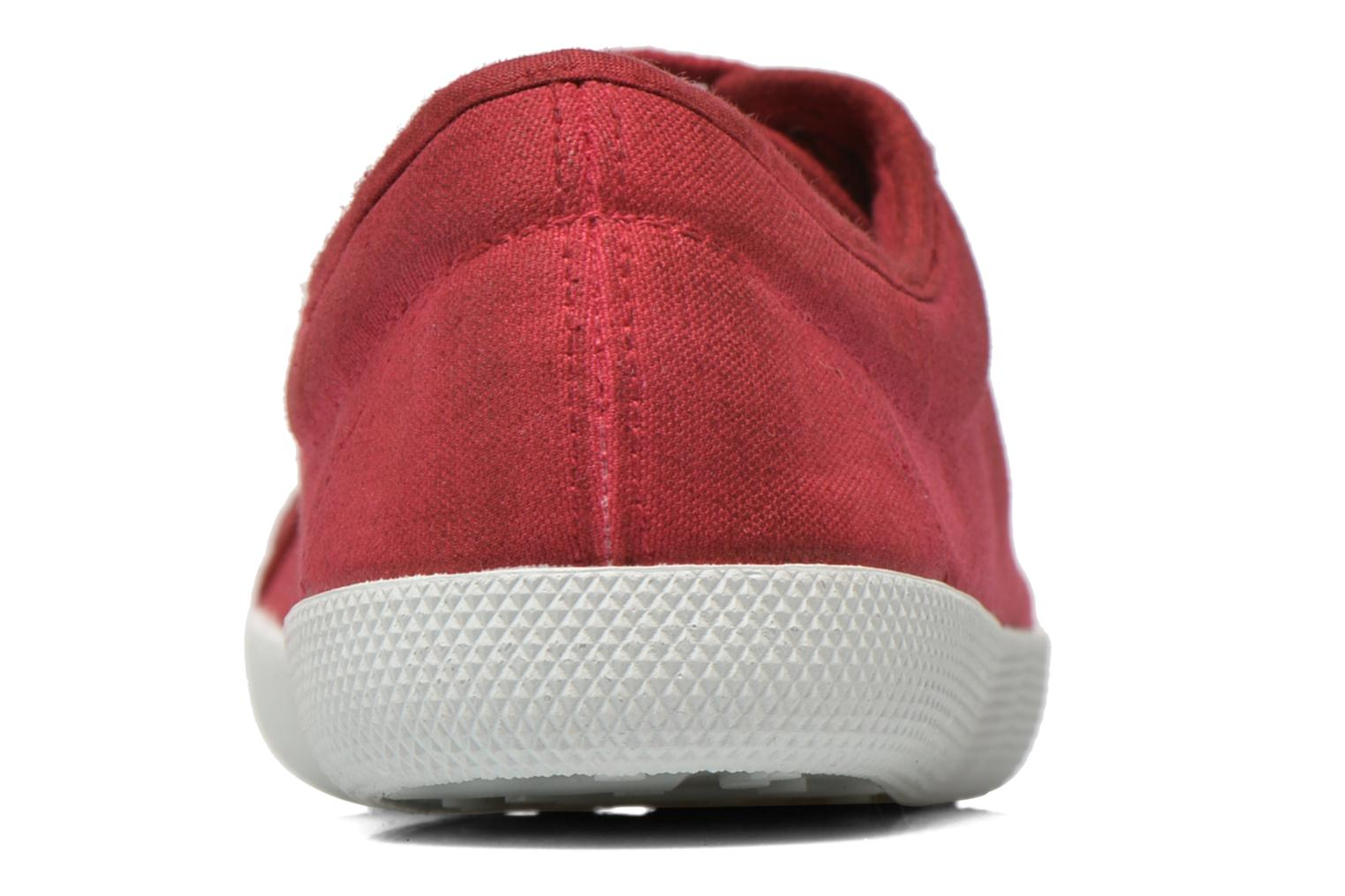 Trainers Georgia Rose Mamine Burgundy view from the right