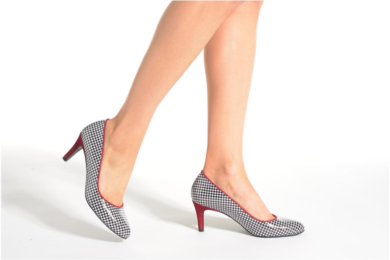 Escarpins Made by SARENZA Notting Heels #10 Multicolore vue bas / vue portée sac