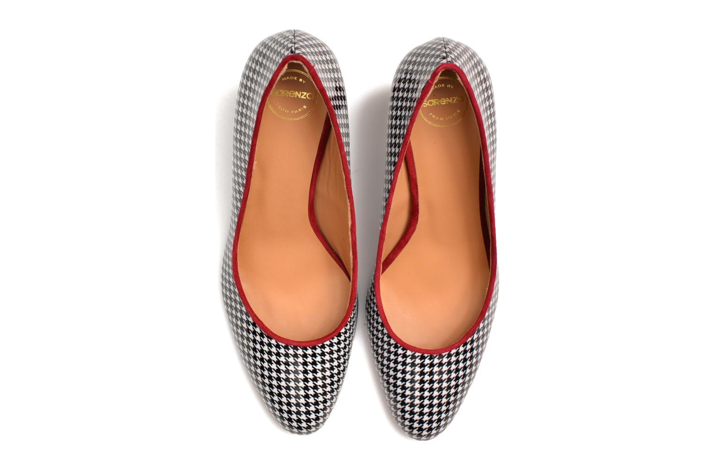 Escarpins Made by SARENZA Notting Heels #10 Multicolore vue haut
