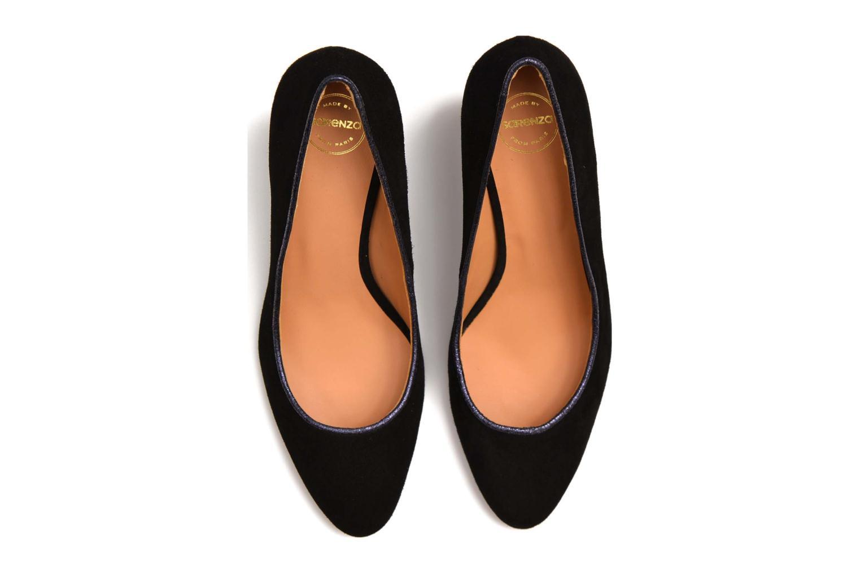 Escarpins Made by SARENZA Notting Heels #10 Noir vue haut