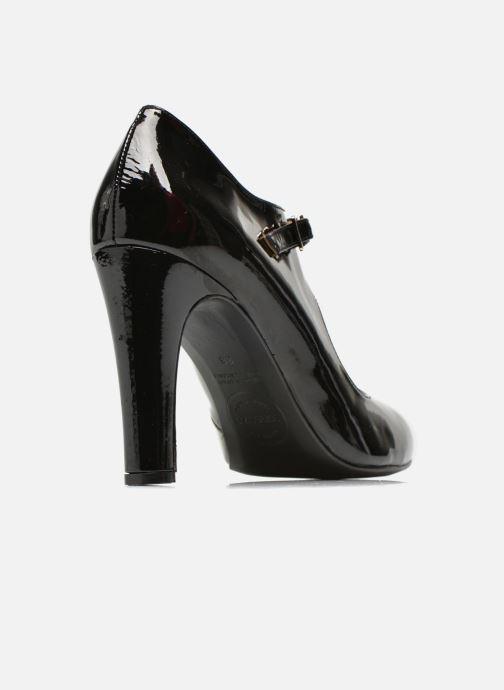 Décolleté Made by SARENZA Shoe Officer #3 Nero modello indossato