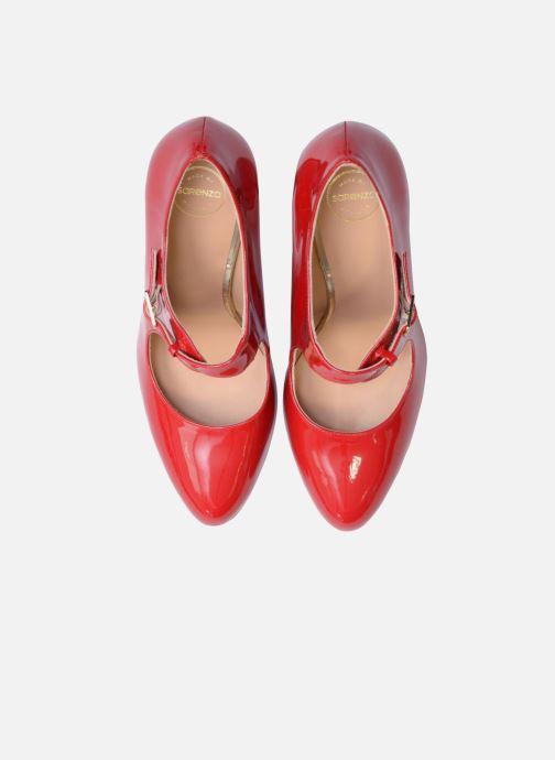 Escarpins Made by SARENZA Shoe Officer #3 Rouge vue portées chaussures
