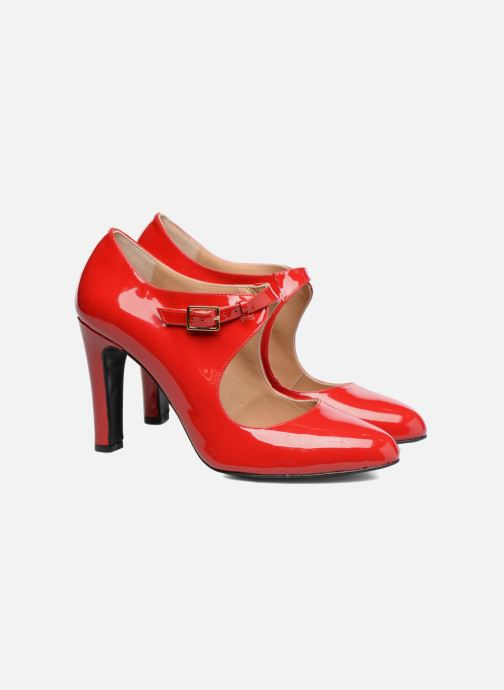 Pumps Made by SARENZA Shoe Officer #3 Rood achterkant
