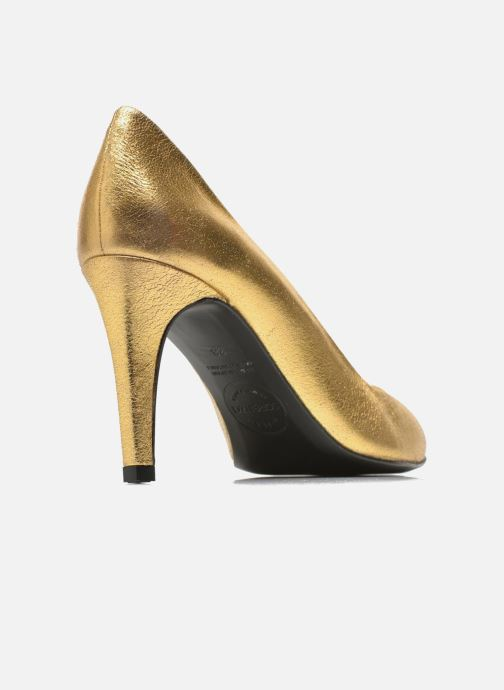 Zapatos de tacón Made by SARENZA Glossy Cindy #4 Oro y bronce vista del modelo