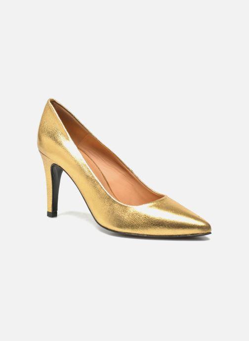 Zapatos de tacón Made by SARENZA Glossy Cindy #4 Oro y bronce vista de frente