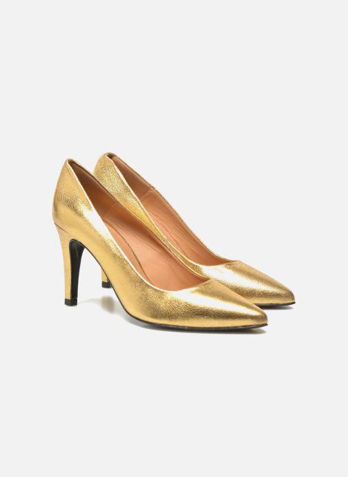 Zapatos de tacón Made by SARENZA Glossy Cindy #4 Oro y bronce vista lateral derecha