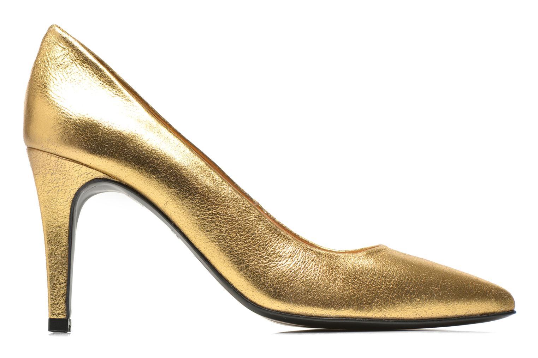 Pumps Made by SARENZA Glossy Cindy #4 Bronze och Guld detaljerad bild på paret