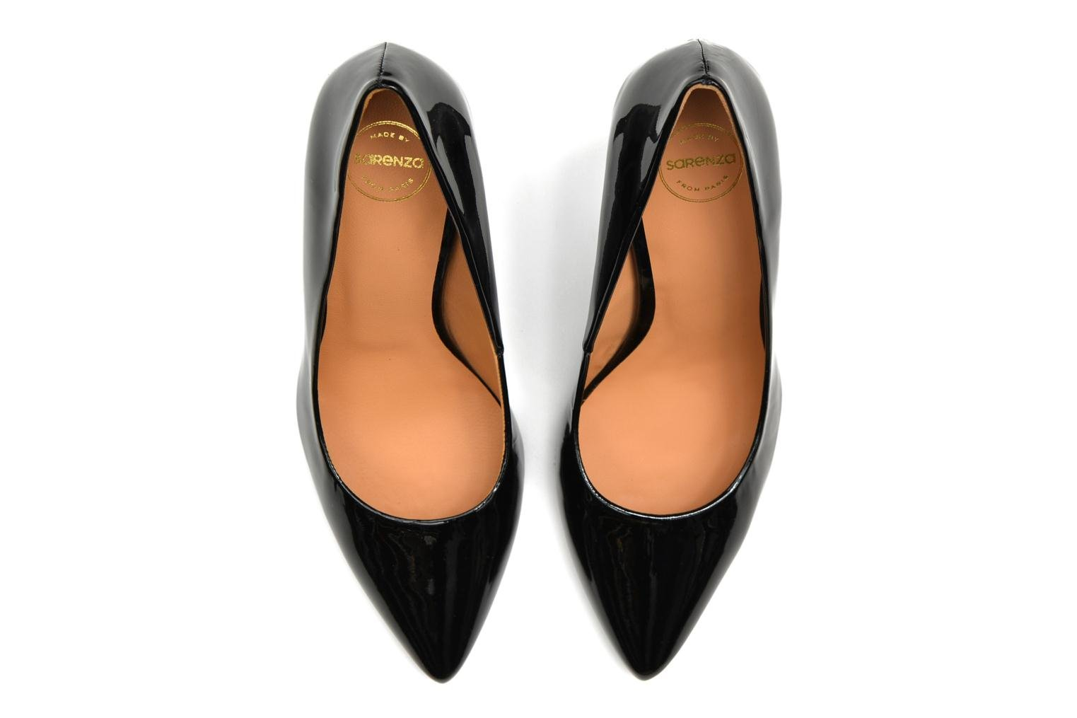 High heels Made by SARENZA Glossy Cindy #4 Black view from above