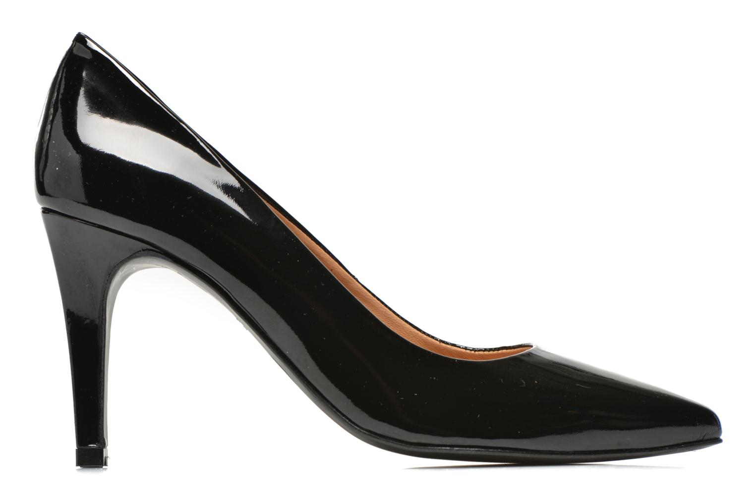 High heels Made by SARENZA Glossy Cindy #4 Black detailed view/ Pair view